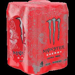 Monster Ultra Red 500mlx4