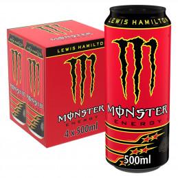 Monster Lewis Hamilton 500mlx4