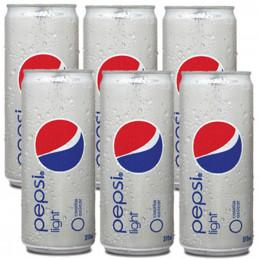 Pepsi Light Cans 330mlx6