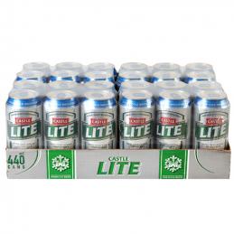 Castle Lite Cans 440mlx24