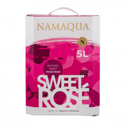 Namaqua Sweet Rose Wine 5lt