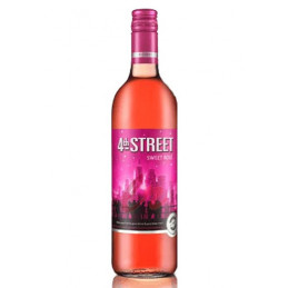 4th Street Sweet Rose Wine...