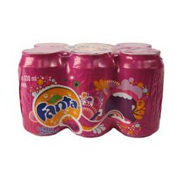 Fanta Grape Cans 330mlx6