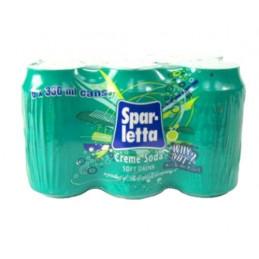 Sparletta Creme Soda Cans...