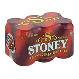 Stoney Ginger Beer Cans...