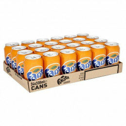 Fanta Orange Cans 330mlx24