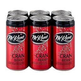 Mckane Cranberry Mixers...