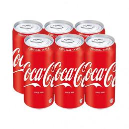 Coca cola Cans 440mlx6