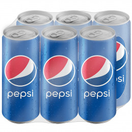 Pepsi Cans 440mlx6