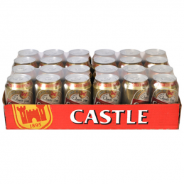 Castle Lager Cans 330mlx24