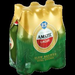 Amstel Lager Beer Nrb 330mlx6