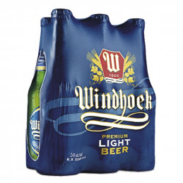 Windhoek Light Beer 330mlx6