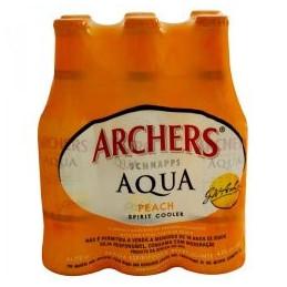 Archers Peach Schnapps 275mlx6