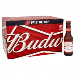 Budwieser Lager Beer 330mlx24
