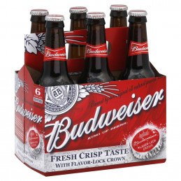 Budwieser Lager Beer 330mlx6