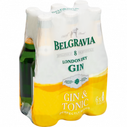 Belgravia Dry Gin & Tonic...