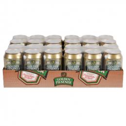 Golden Pilsener Lager Cans...