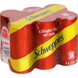 Schweppes Ginger Ale 200mlx6