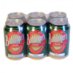 Bohlingers Lager Cans 330mlx6