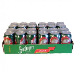 Bohlingers Lager Cans 330mlx24