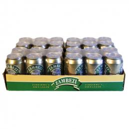Zambezi Lager Cans 440mlx24