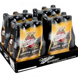 Miller Genuine Draft Beer...