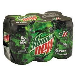 Mountain dew 440mlx6