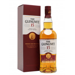 The Glenlivet 15 YO Scotch...